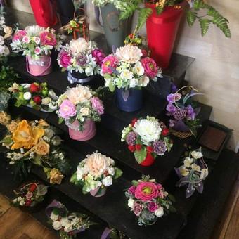 Dalios Gėlės - puokštės, kompozicijos, gėdulo vainikai / Dalia Pranskevičienė / Darbų pavyzdys ID 1001653