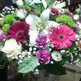 Dalios Gėlės - puokštės, kompozicijos, gėdulo vainikai / Dalia Pranskevičienė / Darbų pavyzdys ID 1001657