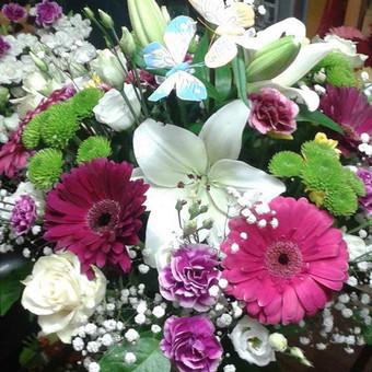 Dalios Gėlės - puokštės, kompozicijos, gėdulo vainikai / Dalia Pranskevičienė / Darbų pavyzdys ID 1001659