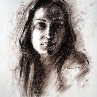 """Piešinys """"Drawing-018"""", anglis-popierius, 30x42cm (A3)"""