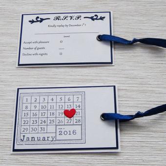 RSVP (atsakymas apie (ne)dalyvavimą) ir Save the Date (vestuvių datos priminimo kortelė)