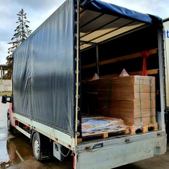 Kasdien krovinių pervežimas visoje Lietuvoje ir Europoje. / UAB Marbusas / Darbų pavyzdys ID 1004055