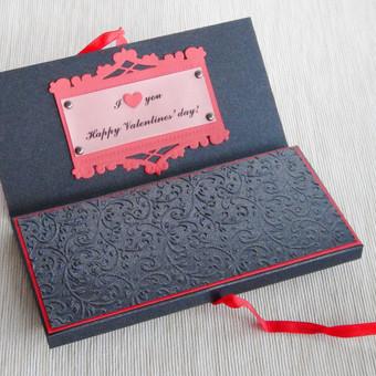 Dėžutė šokoladui, čekiui ar kt. smulkmenėlei