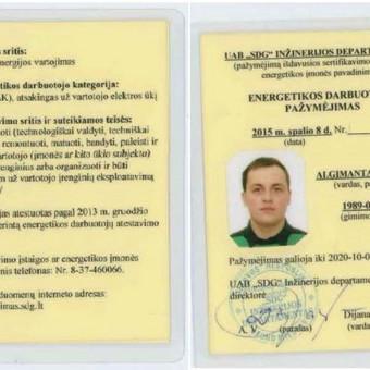 Elektro-sprendimai namams ir verslui / Algimantas Žilvys / Darbų pavyzdys ID 1004521