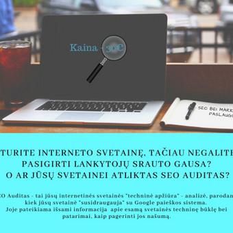 SEO paslaugos už konkurencingą atlygį / Edita Šlakaitienė / Darbų pavyzdys ID 1009315