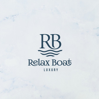 Relax boat logotipo sukūrimas