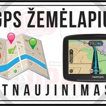 GPS žemėlapių atnaujinimas Panevėžyje, Šiauliuose / TOPIS / Darbų pavyzdys ID 507425