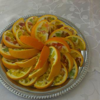 Želė apelsine