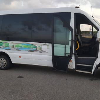 Mikroautobusų nuoma su vairuotoju / Romas Sabutis / Darbų pavyzdys ID 1010713