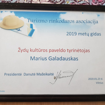 Gidas Vilniuje ir Lietuvoje.Ekskursijos po Vilniu. / Marius Galadauskas / Darbų pavyzdys ID 1011863