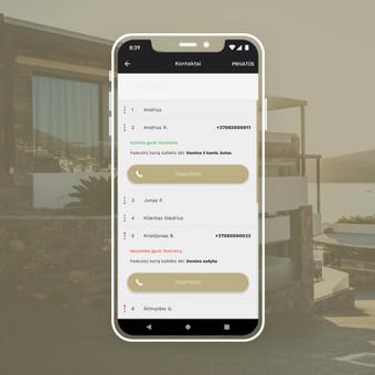Android, iOS mobiliųjų aplikacijų kūrimas / AppStart / Darbų pavyzdys ID 1013001
