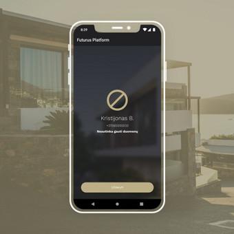 Android, iOS mobiliųjų aplikacijų kūrimas / AppStart / Darbų pavyzdys ID 1013005