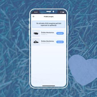 Android, iOS mobiliųjų aplikacijų kūrimas / AppStart / Darbų pavyzdys ID 1013083