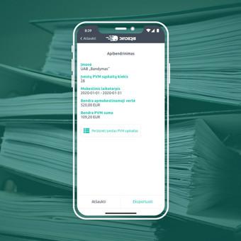 Android, iOS mobiliųjų aplikacijų kūrimas / AppStart / Darbų pavyzdys ID 1013125