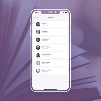 Android, iOS mobiliųjų aplikacijų kūrimas / AppStart / Darbų pavyzdys ID 1013163