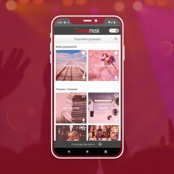Android, iOS mobiliųjų aplikacijų kūrimas / AppStart / Darbų pavyzdys ID 1013187