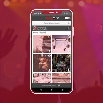 Android, iOS mobiliųjų aplikacijų kūrimas / AppStart / Darbų pavyzdys ID 1013189