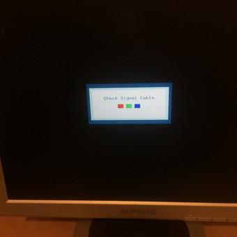 Remontuojame monitorius.