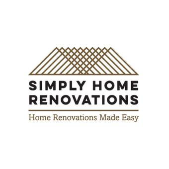 Logotipas įmonei užsiimančiai namų renovacija.