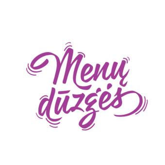Konkursinis logotipas menų dūzgėms.