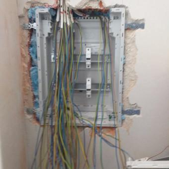 Elektros darbai, varžų matavimai, apsaugos / video sistemos / Artūras / Darbų pavyzdys ID 1018685