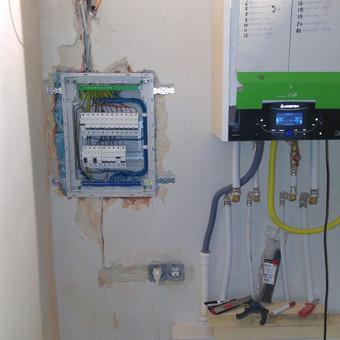 Elektros darbai, varžų matavimai, apsaugos / video sistemos / Artūras / Darbų pavyzdys ID 1019053
