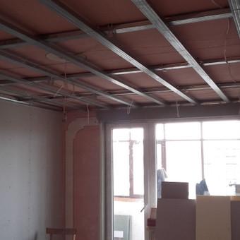 Vidaus patalpų elektros instaliacijos darbai.