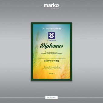 DIZAINO IR REKLAMOS SPRENDIMAI / UAB Marko dizainas / Darbų pavyzdys ID 1022529