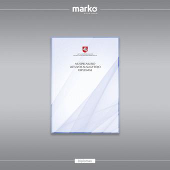 DIZAINO IR REKLAMOS SPRENDIMAI / UAB Marko dizainas / Darbų pavyzdys ID 1022533