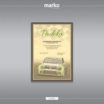 DIZAINO IR REKLAMOS SPRENDIMAI / UAB Marko dizainas / Darbų pavyzdys ID 1022535