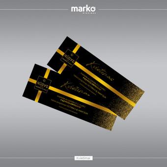 DIZAINO IR REKLAMOS SPRENDIMAI / UAB Marko dizainas / Darbų pavyzdys ID 1022575