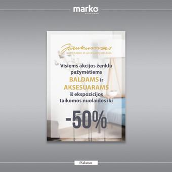 DIZAINO IR REKLAMOS SPRENDIMAI / UAB Marko dizainas / Darbų pavyzdys ID 1022617