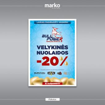 DIZAINO IR REKLAMOS SPRENDIMAI / UAB Marko dizainas / Darbų pavyzdys ID 1022621