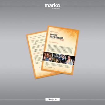 DIZAINO IR REKLAMOS SPRENDIMAI / UAB Marko dizainas / Darbų pavyzdys ID 1022635