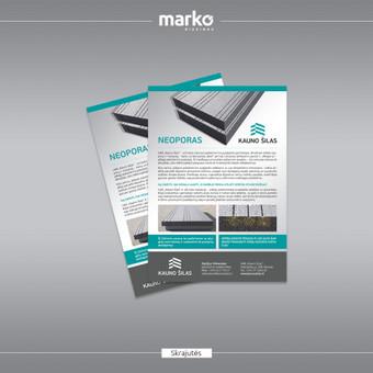 DIZAINO IR REKLAMOS SPRENDIMAI / UAB Marko dizainas / Darbų pavyzdys ID 1022637