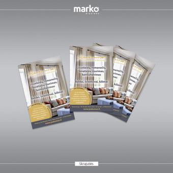 DIZAINO IR REKLAMOS SPRENDIMAI / UAB Marko dizainas / Darbų pavyzdys ID 1022639