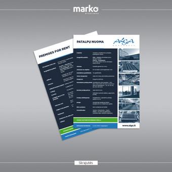 DIZAINO IR REKLAMOS SPRENDIMAI / UAB Marko dizainas / Darbų pavyzdys ID 1022643