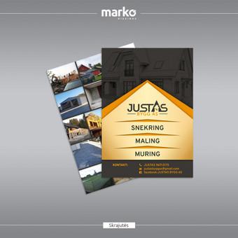 DIZAINO IR REKLAMOS SPRENDIMAI / UAB Marko dizainas / Darbų pavyzdys ID 1022645
