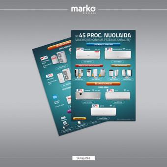 DIZAINO IR REKLAMOS SPRENDIMAI / UAB Marko dizainas / Darbų pavyzdys ID 1022647