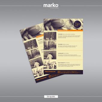 DIZAINO IR REKLAMOS SPRENDIMAI / UAB Marko dizainas / Darbų pavyzdys ID 1022649