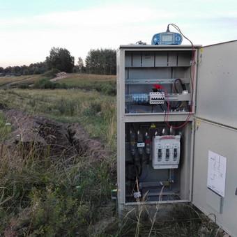 Prijungimas prie ESO, LED apšvietimas, elektros instaliacija / Andrej Grudin, UAB ELEKTARA / Darbų pavyzdys ID 485845