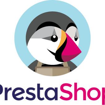 Presta Shop el. parduotuvės produktų, turinio sukėlimas