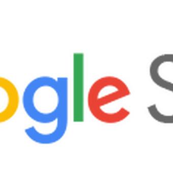 Google sites interneto svetainės turinio sukėlimas
