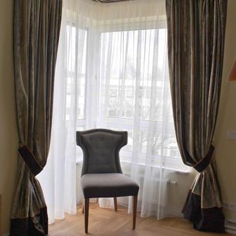 uzuolaidu siuvimas ,audiniu parinkimas dekoravimas  tekstile / Daina Šmidt / Darbų pavyzdys ID 109619