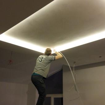 LED apšvietimo sprendimų įgivendinimas