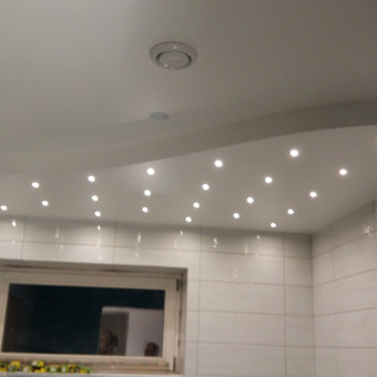 Montuojame šviestuvus pagal užsakovo poreikius
