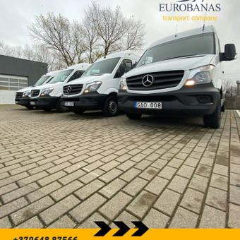 Keleivių ir siuntų pervežimo paslaugas teikianti įmonė / UAB EUROBANAS / Darbų pavyzdys ID 1054257