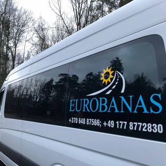 Keleivių ir siuntų pervežimo paslaugas teikianti įmonė / UAB EUROBANAS / Darbų pavyzdys ID 1054263