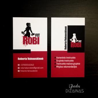 Logotipo kūrimas ir vizitinės kortelės maketas