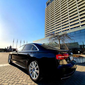 Prabangiu Audi A8 Long Nuoma Vestuvėms / a8nuoma / Darbų pavyzdys ID 1054633